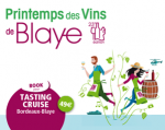 SUNDAY 9TH APRIL, DEPARTURE FROM BORDEAUX BY BOAT TO THE SPRING WINE FESTIVAL