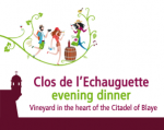 ENJOY DINING AMONG THE VINES OF THE CITADEL OF BLAYE ON WEDNESDAY, AUGUST 2ND!