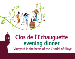 ENJOY DINING AMONG THE VINES OF THE CITADEL OF BLAYE ON WEDNESDAY, AUGUST 1ST!